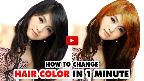 change hair color photoshop change hair color photoshop by smartestmind