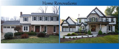 remodeled homes before and after exterior images