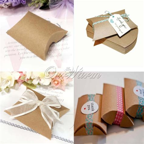 50Pcs/lot Paper Candy Box Wedding Gift for Guests Wedding