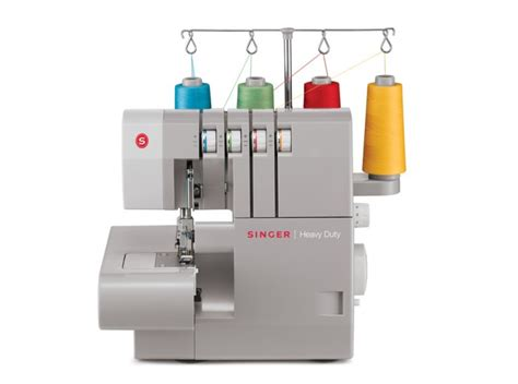 Mesin Obras 14hd854 heavy duty singer sewing