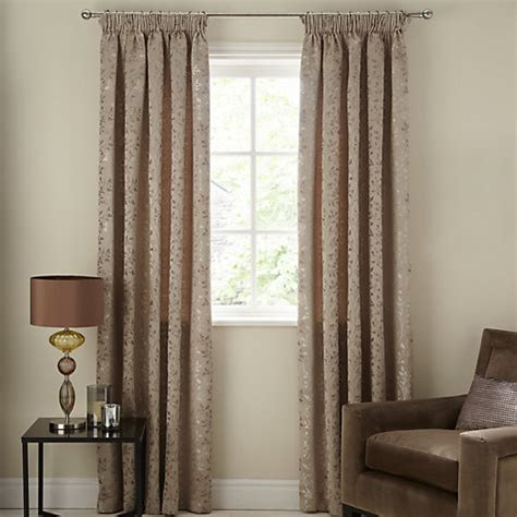 john lewis curtains john lewis botanical field lined pencil pleat curtains