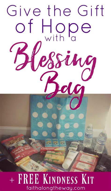 And Give The Gift Of by Give The Gift Of With A Blessing Bag