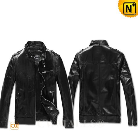 mens leather moto jacket cwmalls 174 mens leather moto jacket cw807010