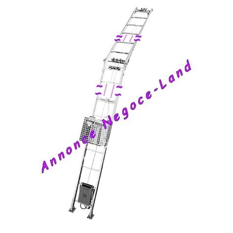 leve tuile monte mat 233 riaux charge imer lift 150 kg l 232 ve tuile 12 50m