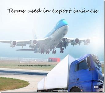 supplement 1 to part 774 terms used in export business such as commercial
