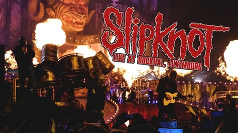 slipknot hd  set rockhal luxemburg  youtube