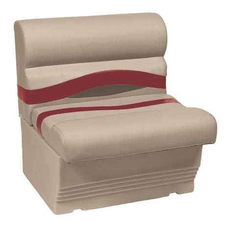 wise bench seat wise premier series 27 quot bench seat 671343 pontoon seats