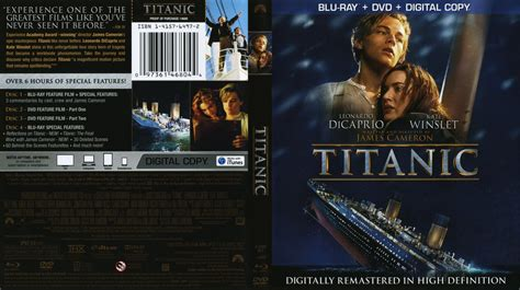 film titanic dvd titanic movie blu ray scanned covers titanic bluray