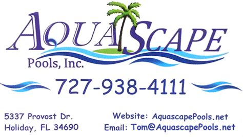 Aquascapes Inc by Aquascape Pools Quality Custom Pools Since 1989 In The