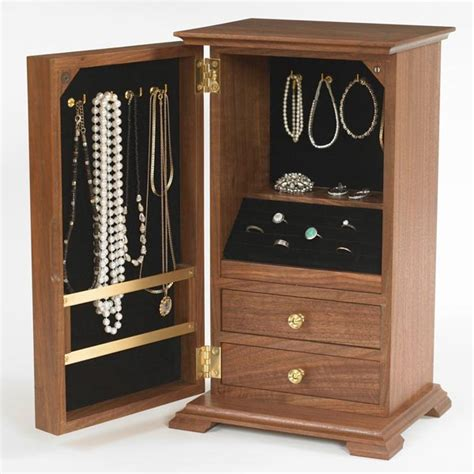woodworking plans for jewelry box a gem of a jewelry chest woodworking plan from wood magazine