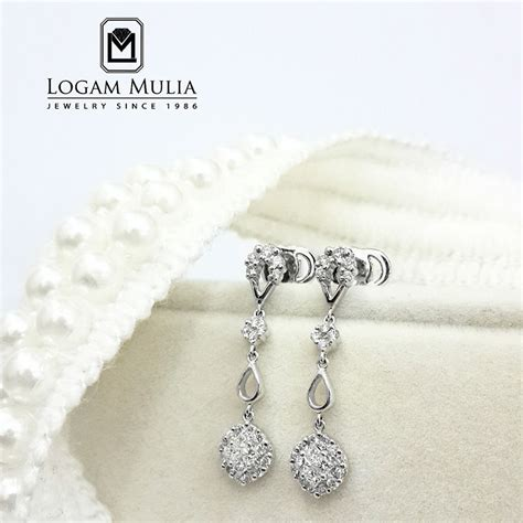 Berlian Medan Anting Padi Padi jual anting berlian wanita cas123 ssnd logammuliajewelry