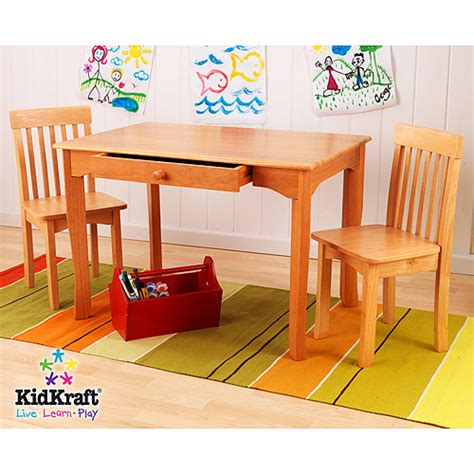 Walmart Table And Chairs by Kidkraft Avalon Table And Chair Set Honey Walmart