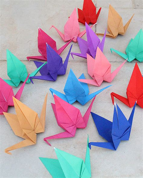 Origami Birthday - origami cranes for birthday or your
