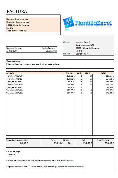 modelos de facturas 2015 facturas diversos modelos en excel
