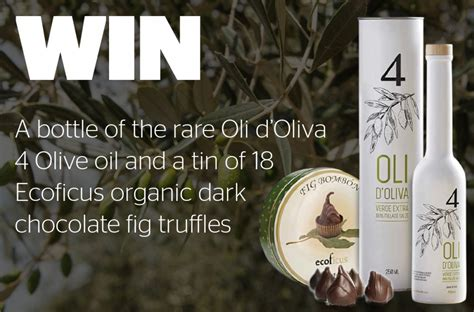 Oli Win win olive and chocolate truffles geographical