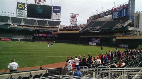 Target 1 Section by Target Field Section 1 Rateyourseats
