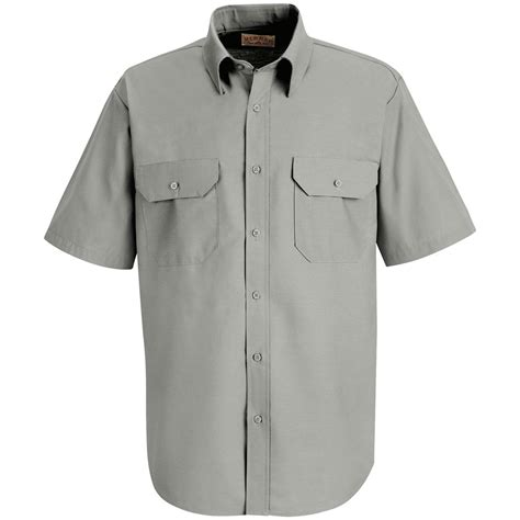 Rr Dress Pocket S Kap 174 Sleeve Solid Dress Shirt