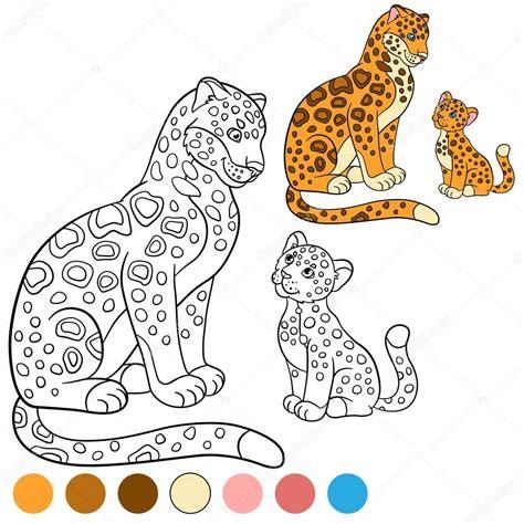 imagenes de jaguar para iluminar p 225 gina para colorir com cores m 227 e on 231 a com seu filhote