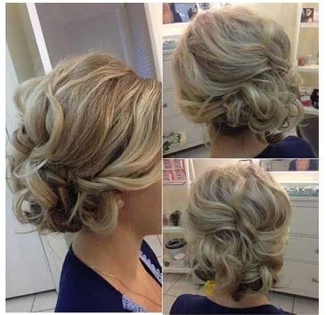 romantic updo for inverted triangle most attractive short hairdos for parties short hair