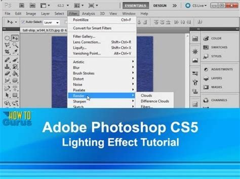 adobe photoshop tutorial tagalog photoshop lighting effects tutorial how to use photoshop