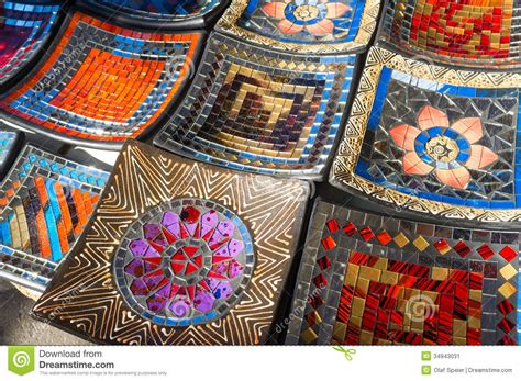 Handcrafted Marketplace - handcrafted enamel plates stock image image 34943031
