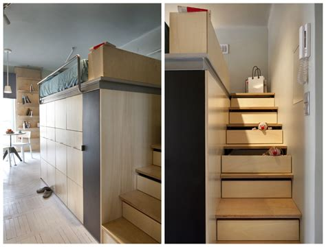 One Bedroom Apartment Organization A 237 Square Foot Apartment In Warsaw By Utopia Studio