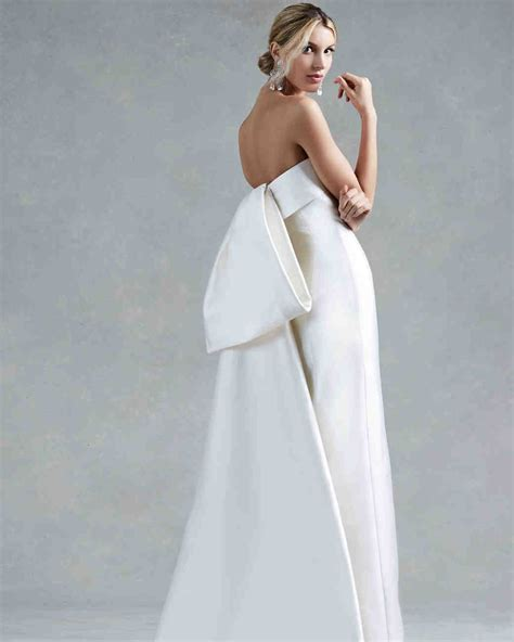 Wedding Dresses With by 60 Wedding Dresses With Bows Martha Stewart Weddings