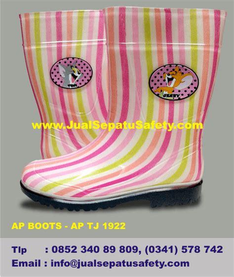 Sepatu Boot Karet Warna Warni safety boots anak perempuan remaja dan dewasa