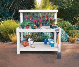 potting bench how to build a potting bench this house