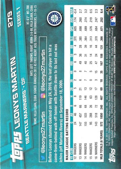 Your Cards 2017 Mlb Topps Series 1 2 Singles Rc
