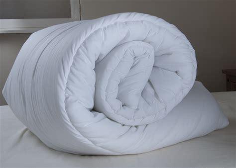 4 5 Tog Kingsize Duvet 6ft king size duvet quilt 4 5 tog white blended cotton 260 x 220cm ss ebay