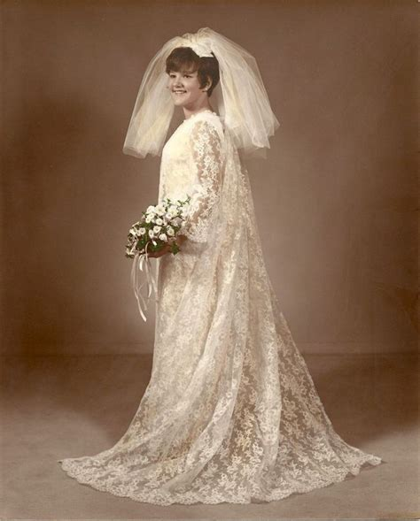 Brautkleider 60er Stil by Vintage Custom Made 60s Shift Style Wedding Dress Veil