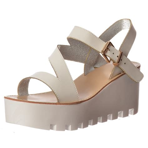 summer wedge sandals onlineshoe cleated sole summer low wedge sandals black