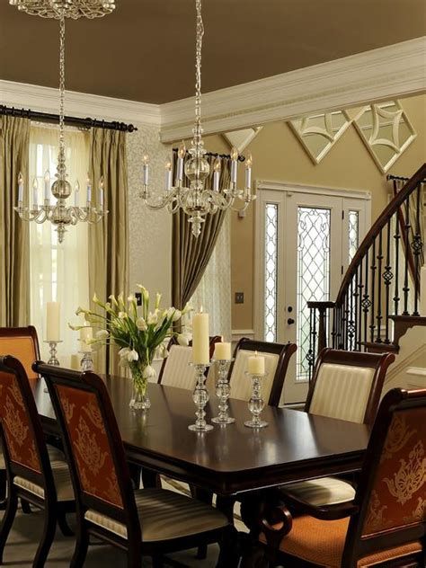 traditional dining room table centerpieces home interior