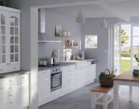 meuble de cuisine authentik blanc castorama