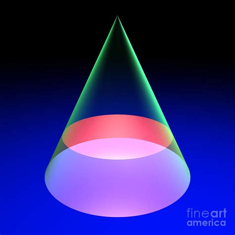 conic sections circle conic section circle 6 digital art by russell kightley