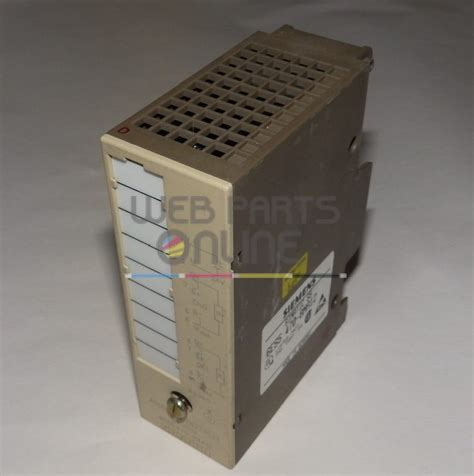 siemens 6es5 470 8ma12 analog output module web parts