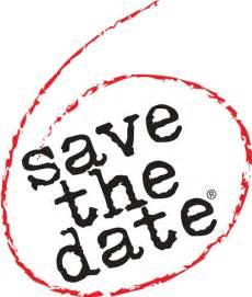 save the date logo design