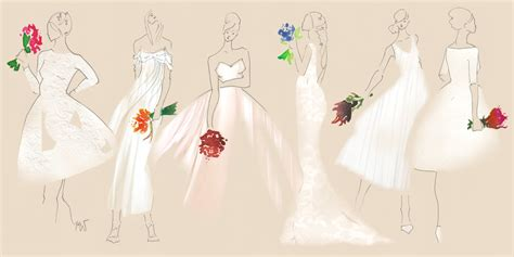Wedding Dresses Style Guide by Your Ultimate Guide To Wedding Dress Styles And