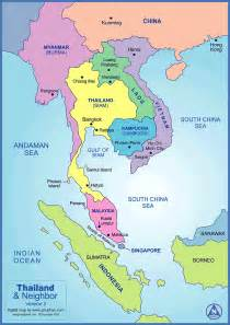 Thailand World Map Location by Travel And World 5 Romantic Honeymoon Destinations In The