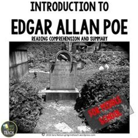 edgar allan poe biography synopsis 1000 images about reading tell tale heart on pinterest