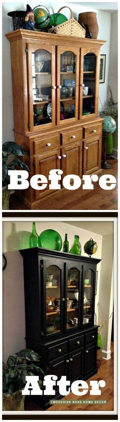 what to put on top of china cabinet repurposed china hutch coffee bars pinterest