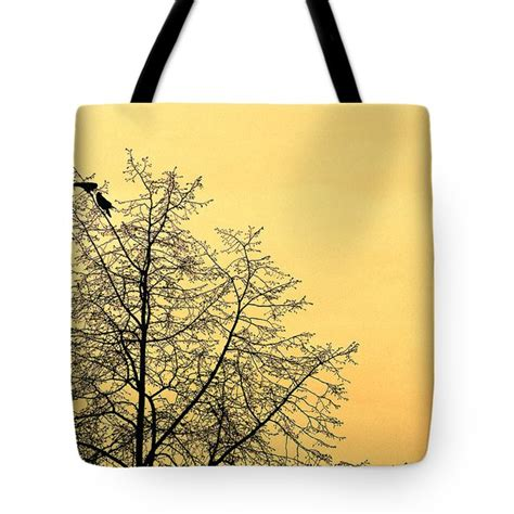 Two Birds Tote two birds in a tree photograph by mike penney