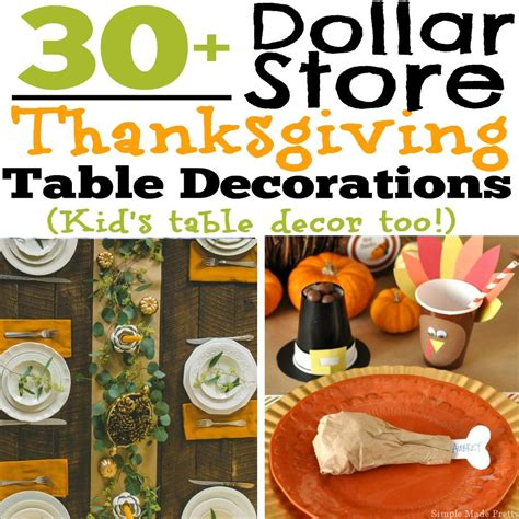 thanksgiving table decorations 30 diy and dollar store thanksgiving table decorations