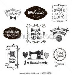 Crafted Or Handcrafted - handmade stock images royalty free images vectors
