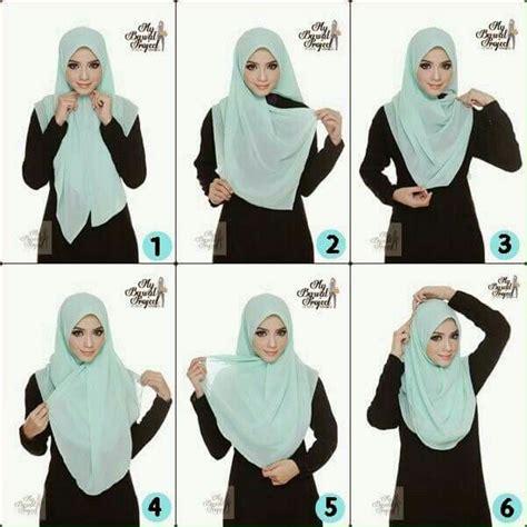 tutorial hijab simpel berkacamata simpel hijab hijab tutorial pinterest tutorials