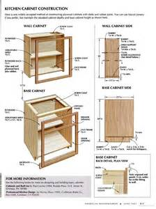kitchen cabinet woodworking plans 17 best images about kitchen cabinet plans on pinterest