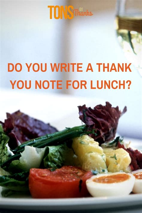 Thank You Letter Lunch 29 best images about thank you note writing tips and