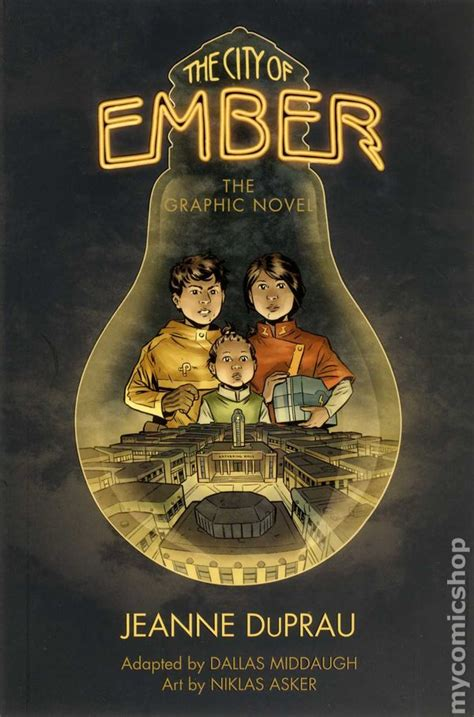 the city a novel books city of ember gn 2012 comic books