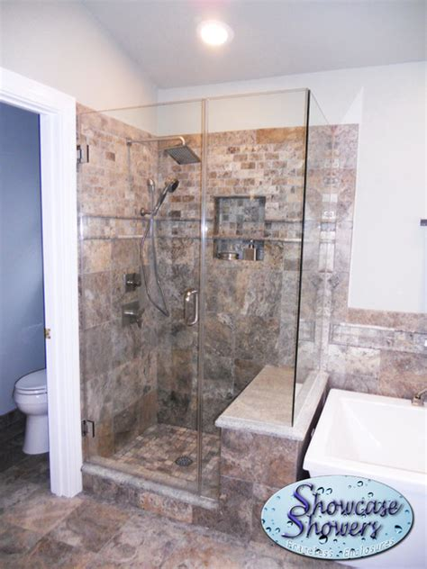 Bathroom Partitions Louisville Ky Corner Showers Shower Stalls And Kits Louisville By